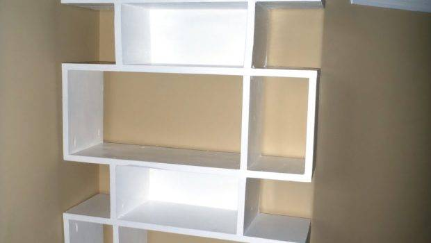 Lazy Liz Less Simple Modern Shelf