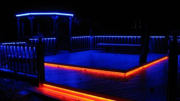 Led Deck Lighting Put These Color Changing Lights