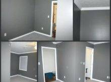 Light Gray Bedroom Walls Medium Wall Paint