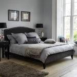 Light Grey Bedroom Walls Regular Black