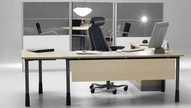 Lighting Modern Office Desk Design Ideas
