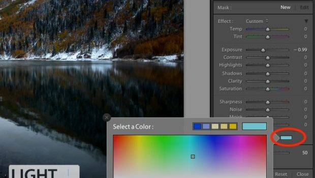 Lightroom Color Picker