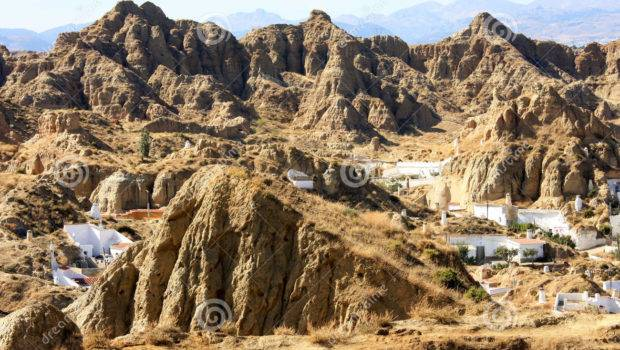 Living Mountains Andalusian Guadix Spain