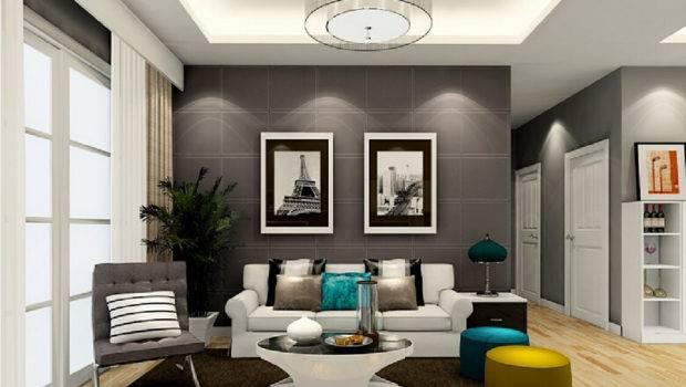 Living Room Abstract Art Sofa Wall