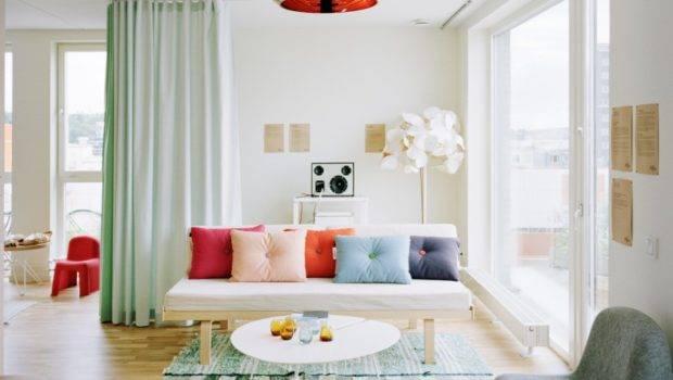 Living Room Amazing Curtains Studio Apartment Decor
