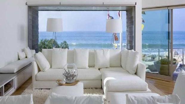Living Room Beach House Ideas White Furniture