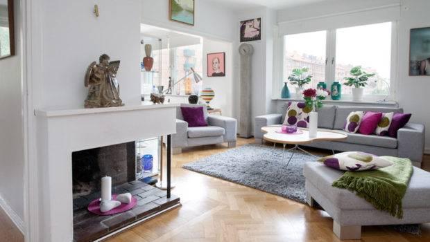 Living Room Decorating Beautiful Apartment Interior Design