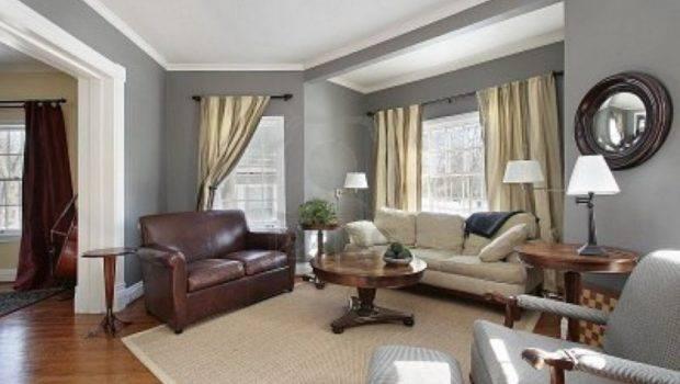 Living Room Decorating Ideas Gray Walls Attractive