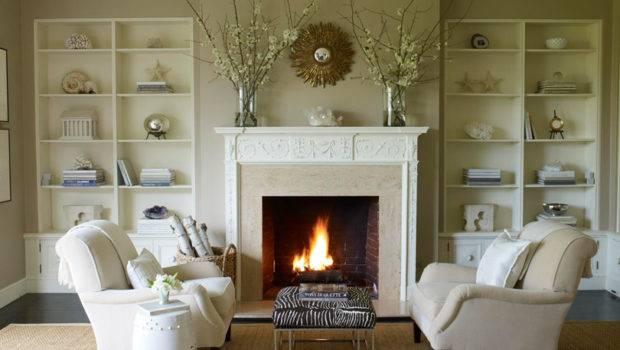 Living Room Design Ideas Fireplace Via Evstudio