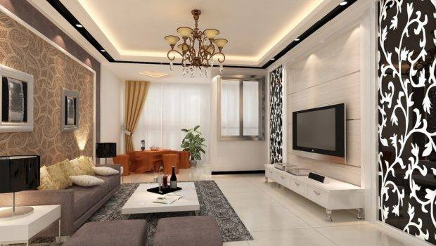 Living Room Dining Interior Design Balconies