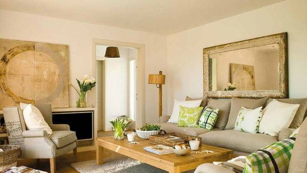 Living Room Fresh Look Neutral Colored Rooms