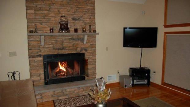 Living Room Interior Designs Unit Lcd Wall