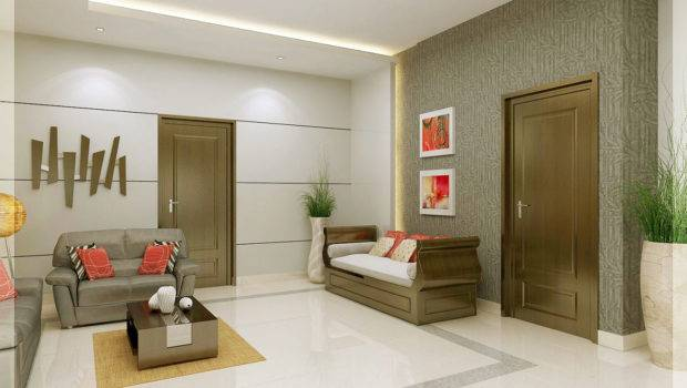 Living Room Interiors Contact House Design Kochi Ernakulam