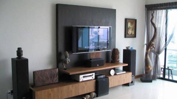 Living Room Lcd Wall Unit Design Ideas Interior Exterior