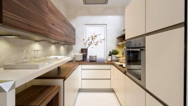 Long Narrow Kitchen Ideas Modern Design