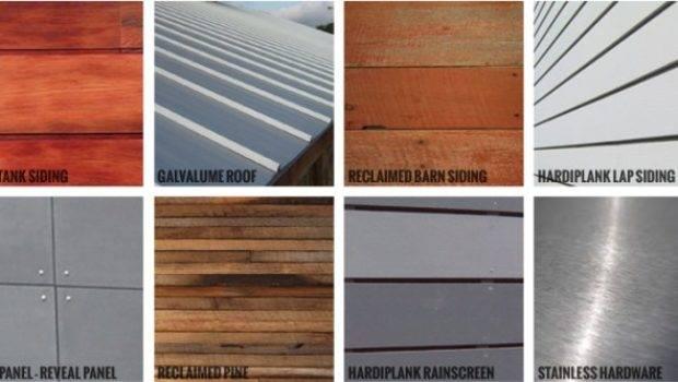 Longhouse Modern Exterior House Materials