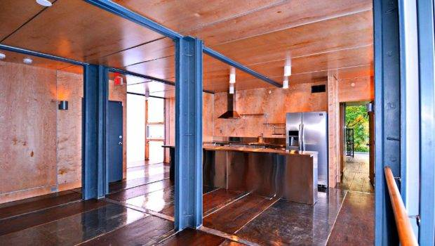 Look Inside Shipping Container Apartments