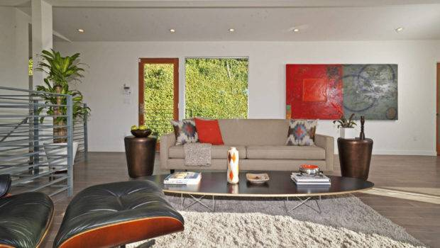 Los Angeles Home Staging Mid Century Modern Imagined