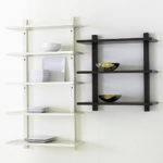 Lovable Unique Shelving Units Design Unfinished