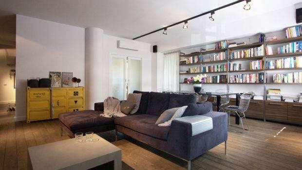 Lovely Apartment Poland Showcasing Industrial Design Scheme