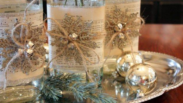 Lovely Elegant Christmas Dining Room Decorations