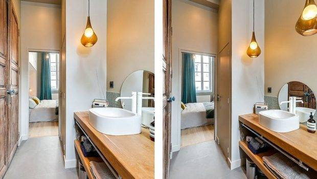 Lovely Small Apartment Paris Mixing Contemporary Classic