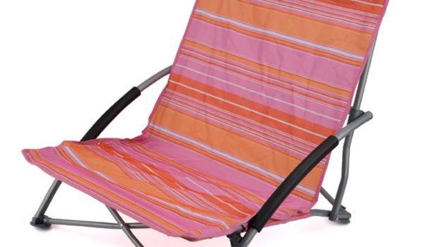 Low Folding Beach Chair Lightweight Portable Outdoor