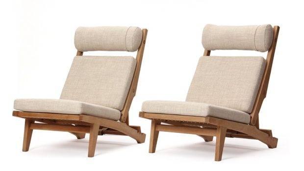 Low Lounge Chair Hans Wegner Sale Stdibs