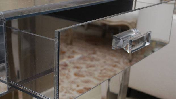 Lucite Dressing Table Mirror Stool Stdibs