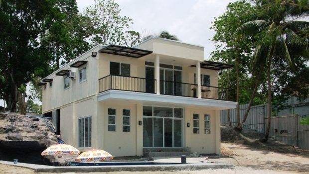 Luxury Container Home Designs Living