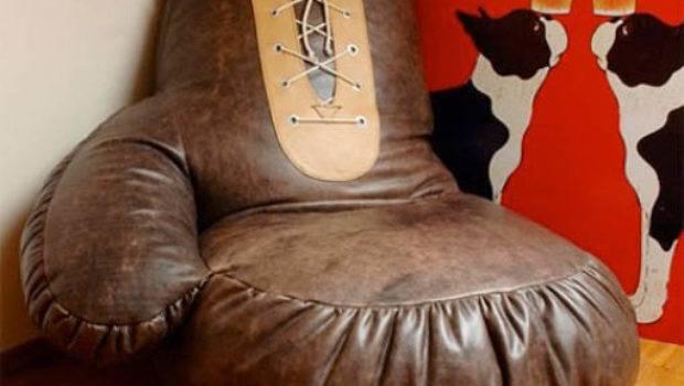 Luxury Furniture Design Idea Unique Boxing Gloves Chair