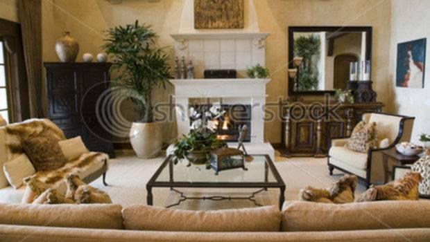 Luxury Home Living Room Contemporary Decor