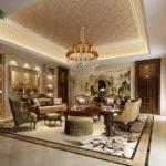 Luxury Living Room Model