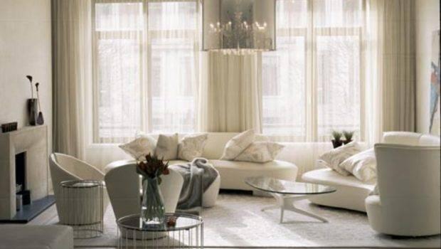 Luxury Living Room White Furniture
