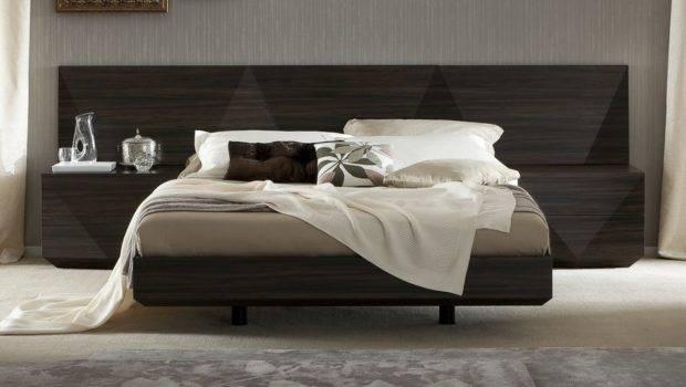 Luxury Platform Bed Two Tone Headboard San Jose California Rssap