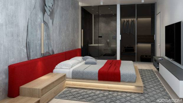 Luxury Small Studio Apartment Design Combined Modern