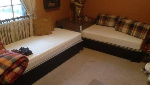 Luxury Twin Bed Corner Table Remodel Interior