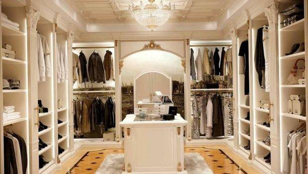 Luxury Walk Closet Design Ideas