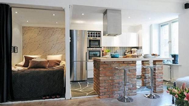Magnificent Small Studio Apartment Interior Design
