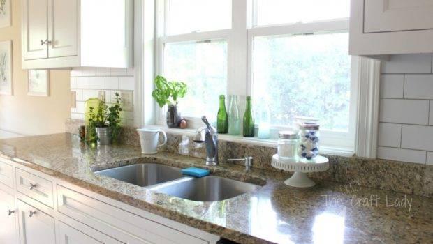 Make White Subway Tile Temporary Backsplash Removable