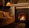 Mantel Decor Living Rooms Warm Cozy Room