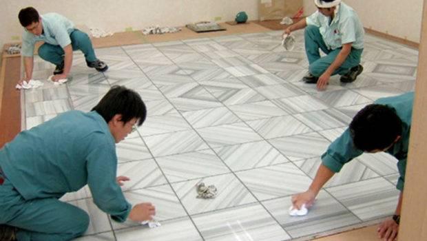 Marble Floor Tile Installation Flooring Design