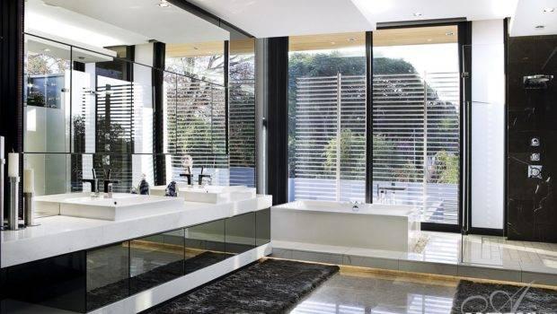 Marble Furniture Modern Minimalist Bathroom Designed Saota