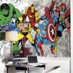 Marvel Classic Character Mural Feet