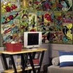 Marvel Classics Comic Panel Mural