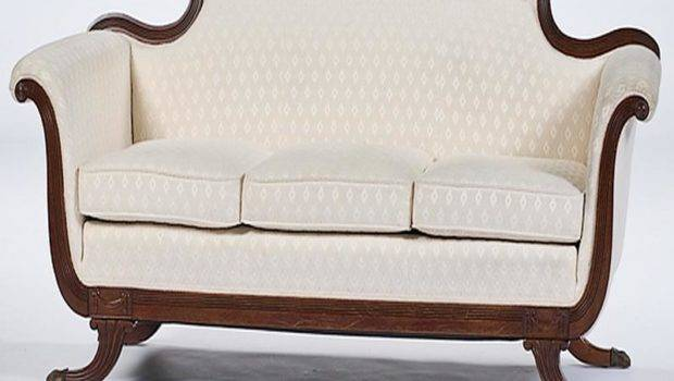 May Furniture Identify Duncan Phyfe Style Sofa