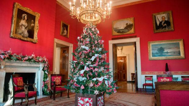Melania Trump Unveils White House Christmas Decor