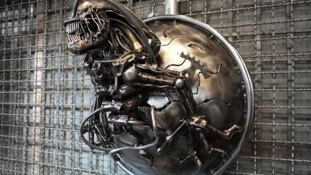 Metal Alien Lamp Kreatworks Deviantart