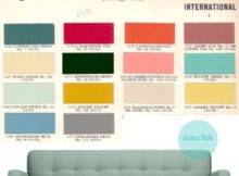 Mid Century Scandinavian Color Palette