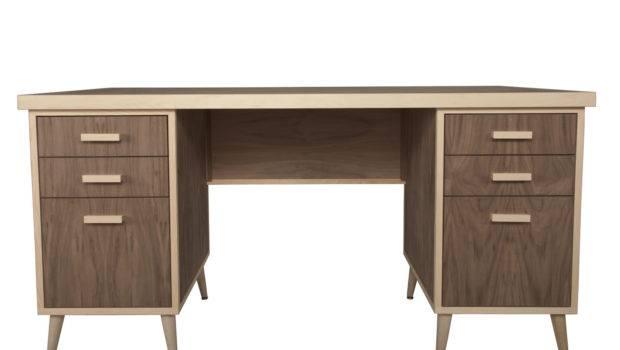 Midcentury Modern Desk Desks Office Urbangreen Furniture New